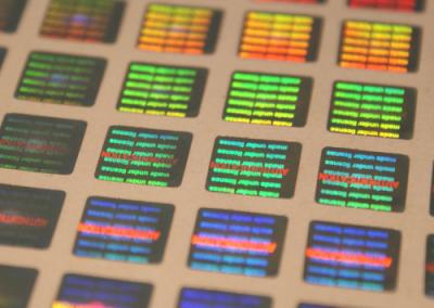 Laser Lights hologram matrica