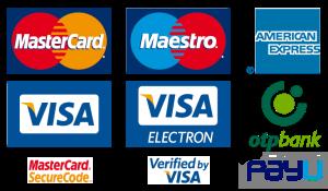 Bankkártyával is fizethet!